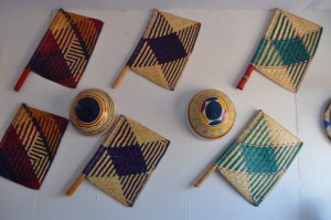 Finely finished Raffia works on display at NAFEST Arts and Crafts Exhibition